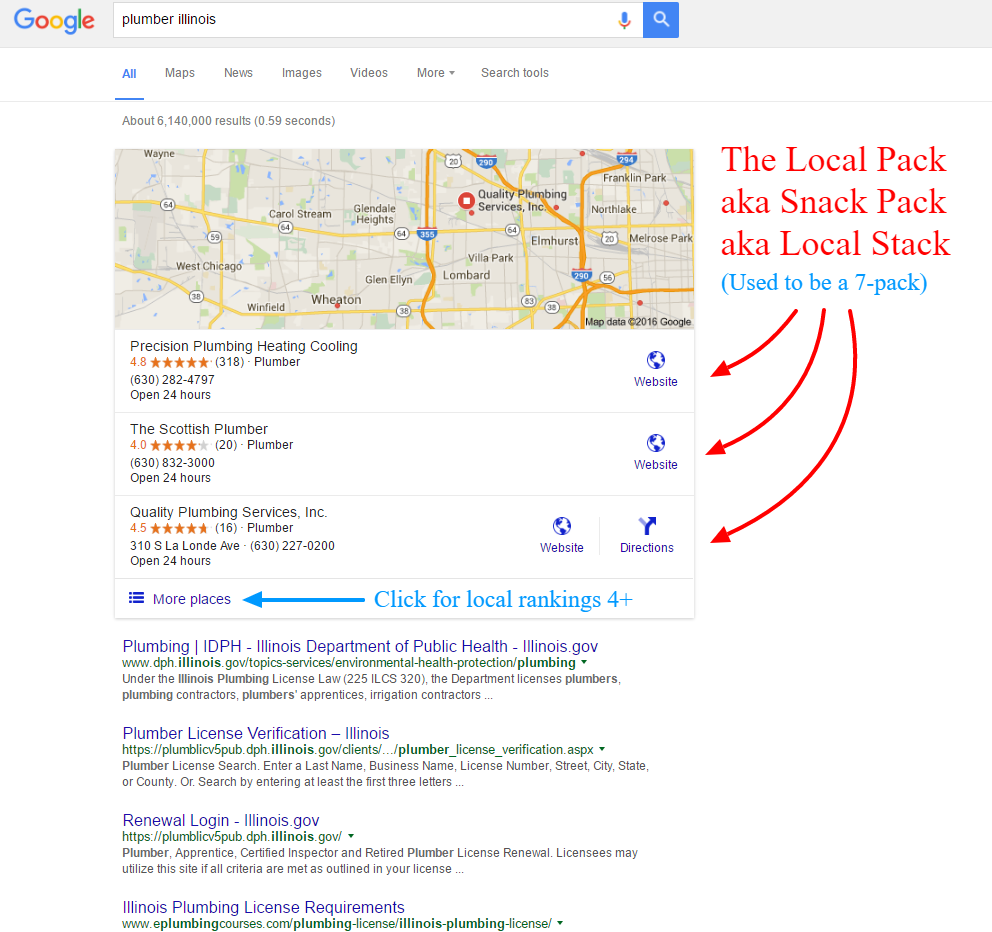 How to get Google Review in Local Pack